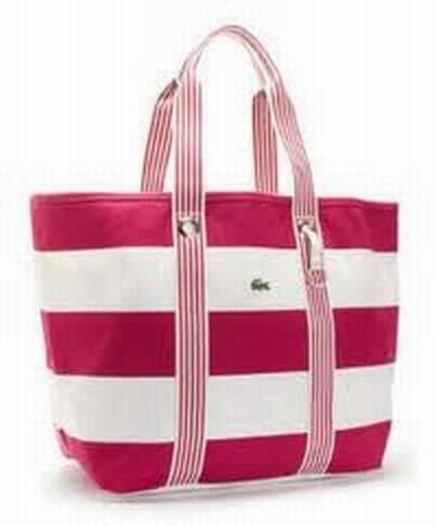 Nouvelle Nouvelle sac sac Sac Sur Femme Femme Femme Main Lacoste Collection  Ebay xqxv64X 79cd43124b7